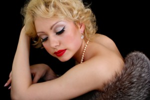 Make-up à la Marilyn Monroe