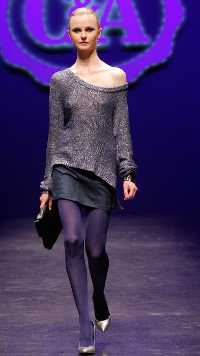 Mode im Stil der Eighties