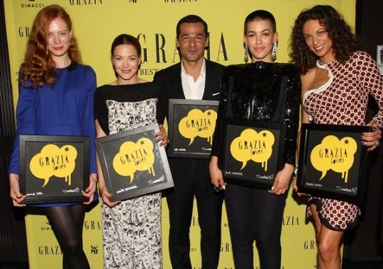 Preisträger des Grazia Best Dressed Awards