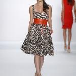 Kleid mit Zebramuster bei Laurel