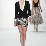 Shorts mit Zebramuster bei Minx by Eva Lutz