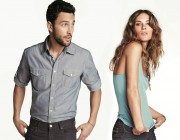 Erin Wasson und Noah Mills: Dream-Team in Denim